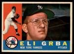 1960 Topps #183  Eli Grba  Front Thumbnail