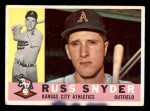 1960 Topps #81  Russ Snyder  Front Thumbnail