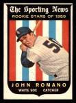 1959 Topps #138  John Romano  Front Thumbnail
