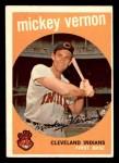 1959 Topps #115  Mickey Vernon  Front Thumbnail