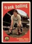 1959 Topps #280  Frank Bolling  Front Thumbnail
