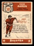 1959 Topps #561   -  Hank Aaron All-Star Back Thumbnail