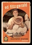 1959 Topps #33  Ed Fitzgerald  Front Thumbnail