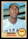 1968 Topps #410  Ferguson Jenkins  Front Thumbnail