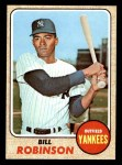 1968 Topps #337 BILL Bill Robinson  Front Thumbnail