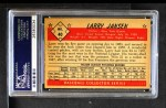 1953 Bowman B&W #40  Larry Jansen  Back Thumbnail