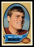 1970 Topps #14  Mike Haffner  Front Thumbnail