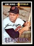 1967 Topps #509  Jim King  Front Thumbnail