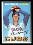 1967 Topps #256  Bob Hendley  Front Thumbnail