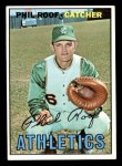1967 Topps #129  Phil Roof  Front Thumbnail