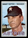 1967 Topps #347  Grady Hatton  Front Thumbnail