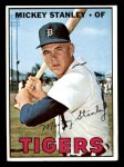 1967 Topps #607  Mickey Stanley  Front Thumbnail