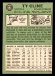 1967 Topps #591  Ty Cline  Back Thumbnail