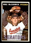 1967 Topps #86 TR Mike McCormick  Front Thumbnail