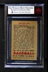 1951 Bowman #232  Nellie Fox  Back Thumbnail