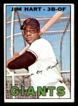 1967 Topps #220  Jim Hart  Front Thumbnail