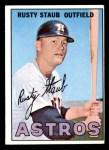 1967 Topps #73  Rusty Staub  Front Thumbnail