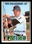 1967 Topps #431  Ted Uhlaender  Front Thumbnail