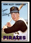 1967 Topps #283  Gene Alley  Front Thumbnail