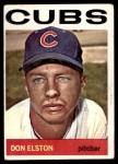 1964 Topps #111  Don Elston  Front Thumbnail