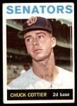1964 Topps #397  Chuck Cottier  Front Thumbnail
