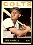 1964 Topps #121 xSPT Pete Runnels  Front Thumbnail