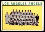 1964 Topps #213   Angels Team Front Thumbnail