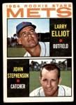 1964 Topps #536   -  Larry Elliot / John Stephenson Mets Rookies Front Thumbnail
