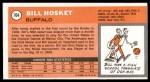 1970 Topps #104  Bill Hosket   Back Thumbnail