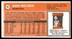 1970 Topps #86  Don Nelson   Back Thumbnail