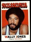 1971 Topps #42  Wally Jones   Front Thumbnail