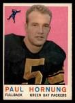 1959 Topps #82  Paul Hornung  Front Thumbnail