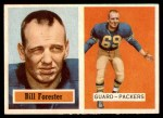 1957 Topps #69  Bill Forester  Front Thumbnail