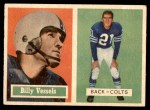 1957 Topps #29  Billy Vessels  Front Thumbnail