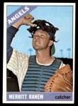 1966 Topps #62 SLD Merritt Ranew   Front Thumbnail