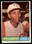 1961 Topps #244  Leo 'Chico' Cardenas  Front Thumbnail