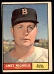 1961 Topps #301  Chet Nichols  Front Thumbnail