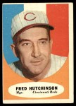 1961 Topps #135  Fred Hutchinson  Front Thumbnail