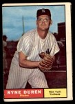 1961 Topps #356  Ryne Duren  Front Thumbnail