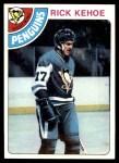 1978 Topps #213  Rick Kehoe  Front Thumbnail