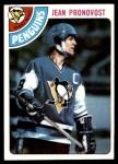 1978 Topps #184  Jean Pronovost  Front Thumbnail