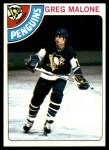 1978 Topps #233  Greg Malone  Front Thumbnail