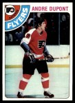 1978 Topps #98  Andre Dupont  Front Thumbnail