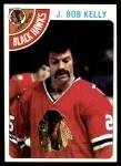1978 Topps #189  J. Bob Kelly  Front Thumbnail