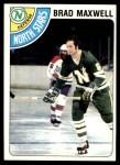 1978 Topps #83  Brad Maxwell  Front Thumbnail