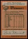 1978 Topps #46  Bob Stewart  Back Thumbnail