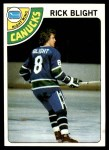 1978 Topps #7  Rick Blight  Front Thumbnail