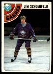 1978 Topps #178  Jim Schoenfeld  Front Thumbnail