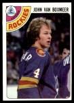1978 Topps #224  John Van Boxmeer  Front Thumbnail