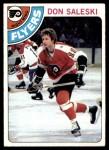1978 Topps #257  Don Saleski  Front Thumbnail